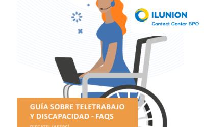 Nueva área de la Guía de Teletrabajo y Discapacidad de Discatel